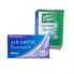 Air Optix plus HydraGlyde Multifocal (3 шт.) + раствор