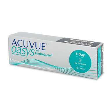 1-Day Acuvue Oasys with HydraLuxe (30 шт.)