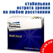 PureVision Multi-Focal (6 шт., акция)