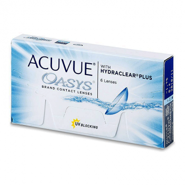 Acuvue Oasys with Hydraclear Plus (-) (6 шт.)