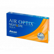 Air Optix NightDay Aqua (3 шт.+1 в подарок)