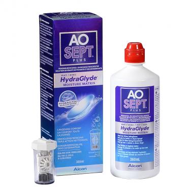 Раствор AOSEPT PLUS HydraGlyde 360 ml  ожидаем поставку