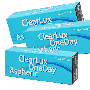 ClearLux OneDay Aspheric (90 шт.)