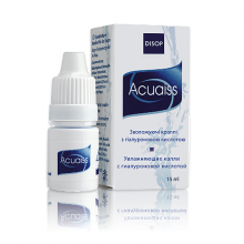 Капли для глаз Disop Acuaiss Drops 15 ml