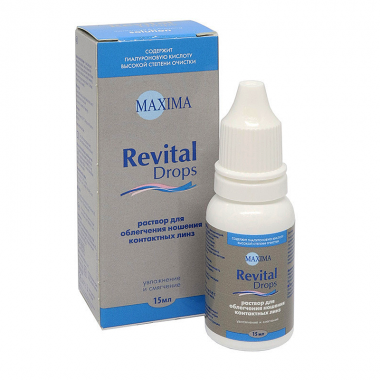 Капли для глаз Maxima Revital Drops 15ml