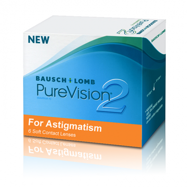 Pure Vision 2 For Astigmatism (3 шт.)