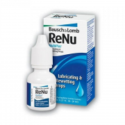 Капли зля глаз ReNu Lubricating & Rewetting drops 8 ml