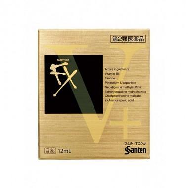 Капли для глаз Sante FX V+ японские 12 ml